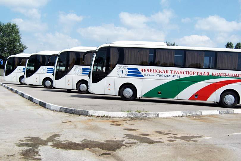 Общественный транспорт в Чечне