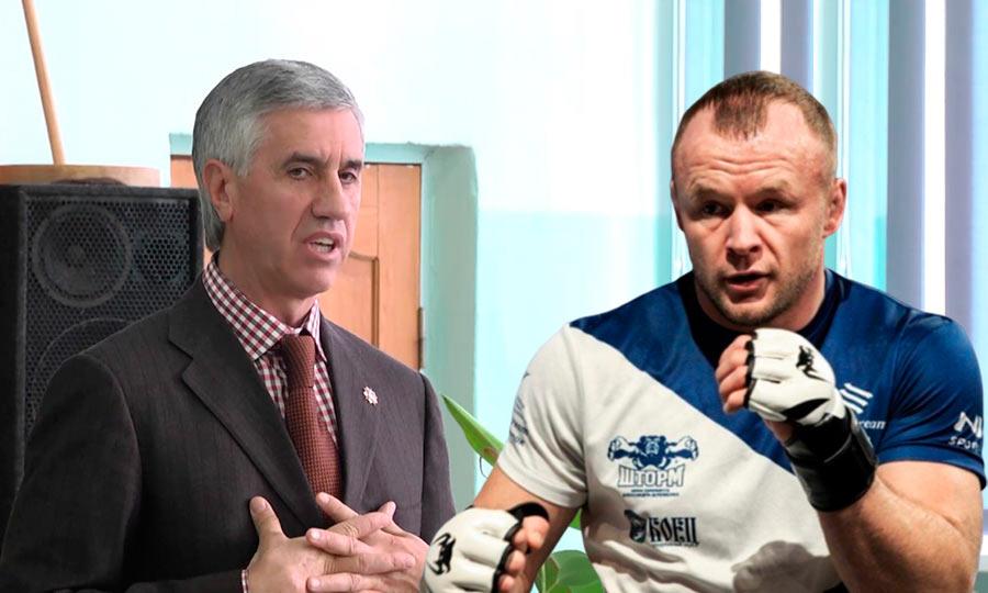Александр Шлеменко и Анатолий Быков