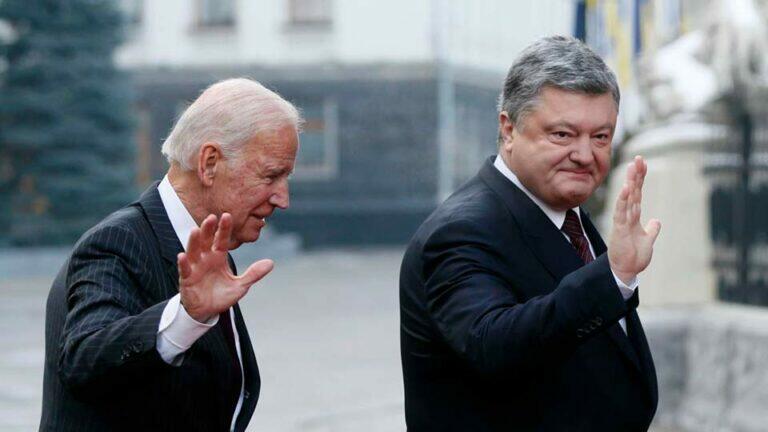Украина сделала Трампу царский подарок перед выборами, опубликовав переговоры Байдена и Порошенко