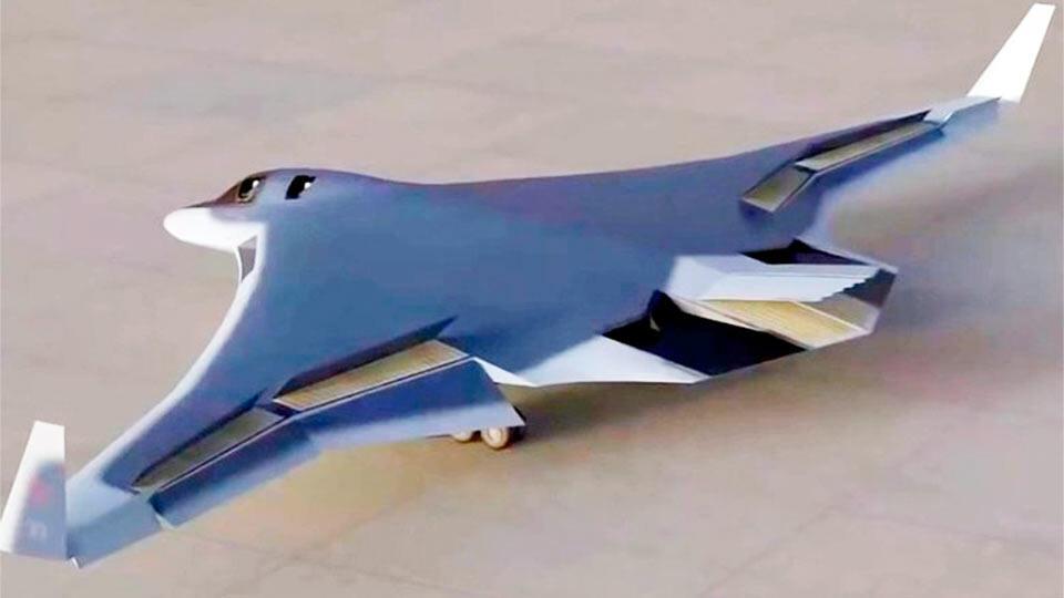 Стратегический стелс-бомбардировщик