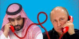 В телефонном разговоре, Путин обсудил рынок нефти с принцем Саудовской Аравии
