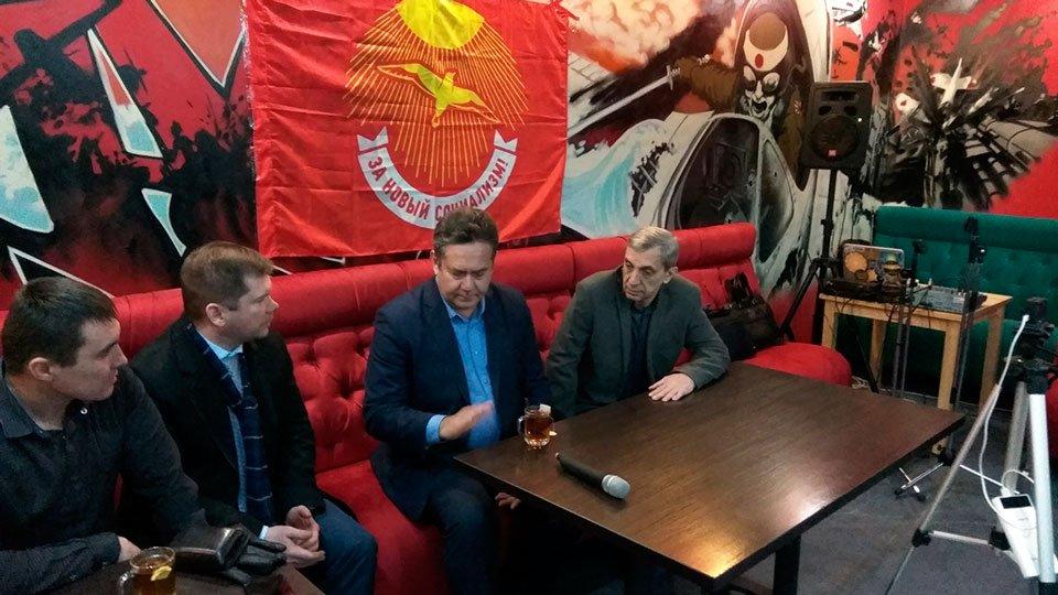 Николай Платошкин и Сергей Сошин в Казани