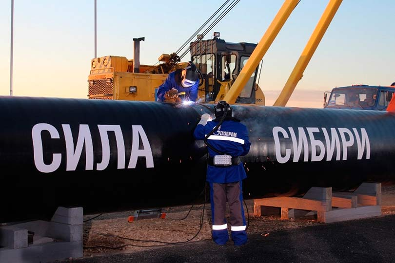 Сила Сибири Газпром