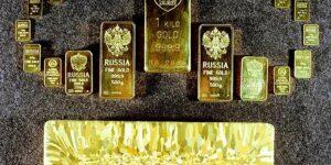 Золото на доллары спешно меняет «Сбербанк», две трети его золотого запаса уже отправлены в Лондон