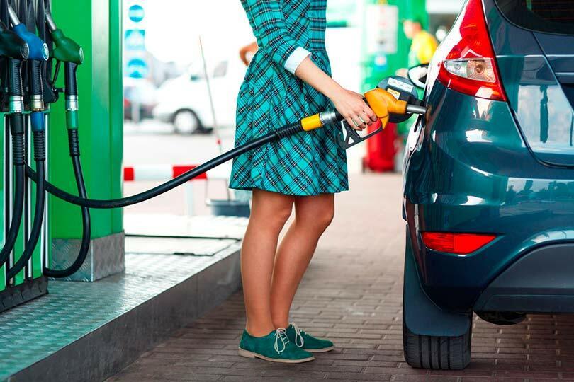 Заправка бензина