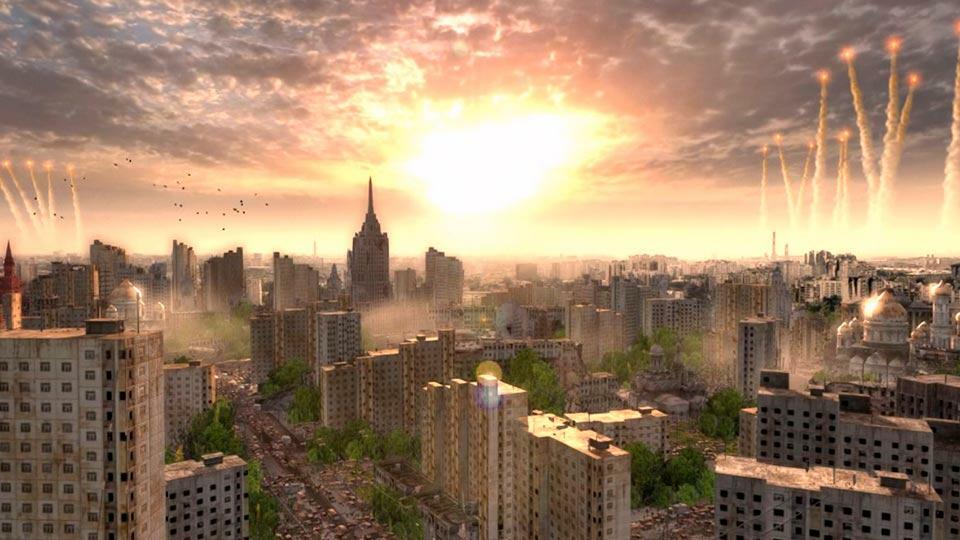 Zlrhysq взрыв над Москвой