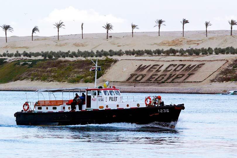 Египет Суэцкий канал