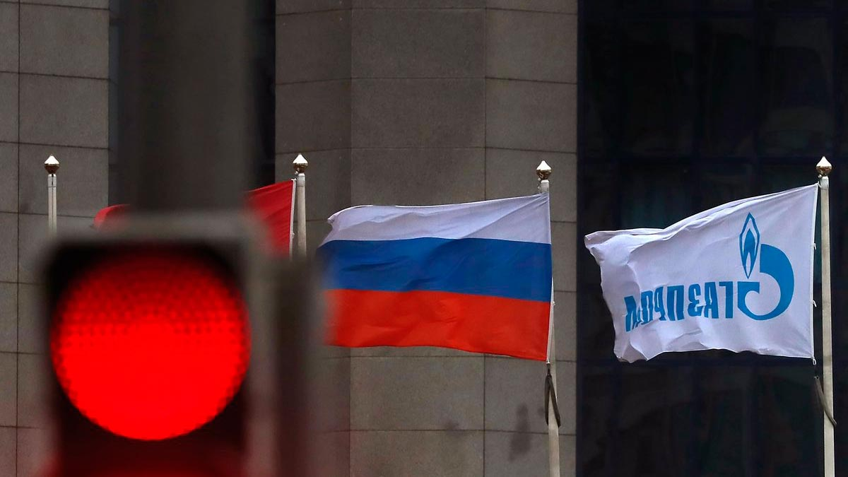 Газпром - Россия