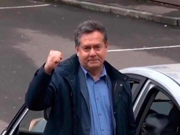 Платошкин вышел из Басманного суда