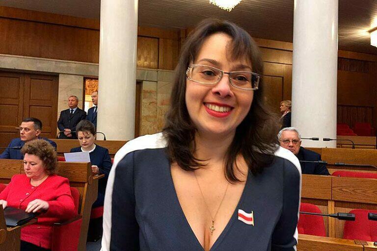 Анна Канопацкая стала третьим конкурентом у Лукашенко на президентских выборах