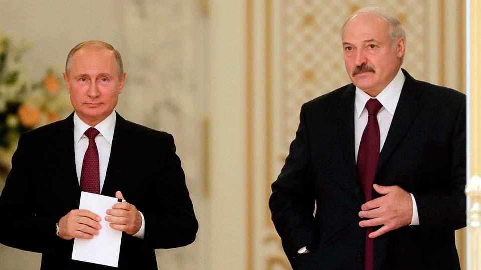 Путин поссорился с Лукашенко