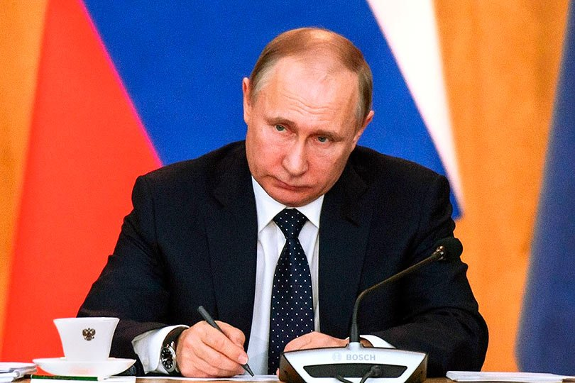 Путин пишет