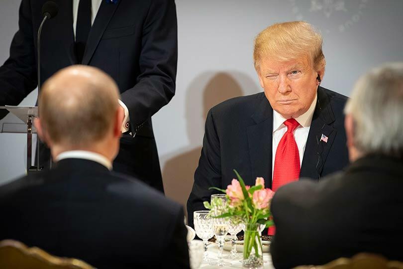 Трамп с Путиным
