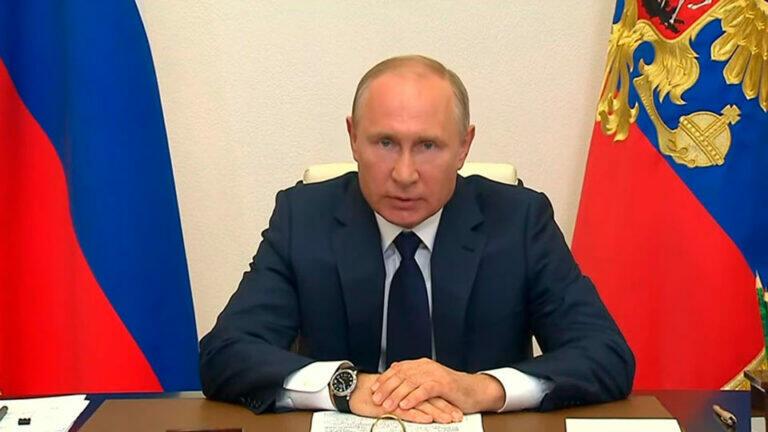 Путин обратился к россиянам в преддверии голосования 1 июля и предложил ввести прогрессивный налог