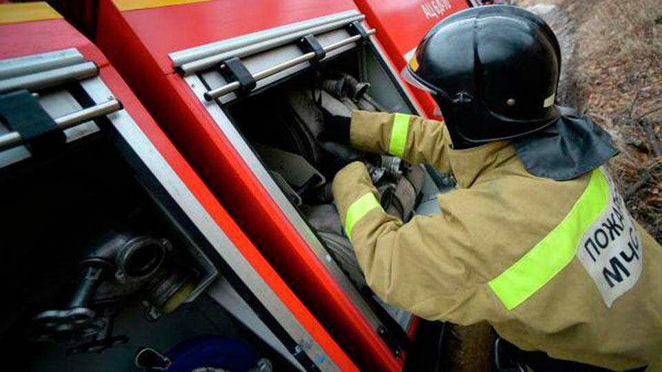 Российский пожарный