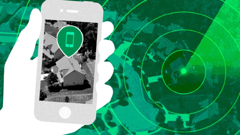Геолокация на смартфоне