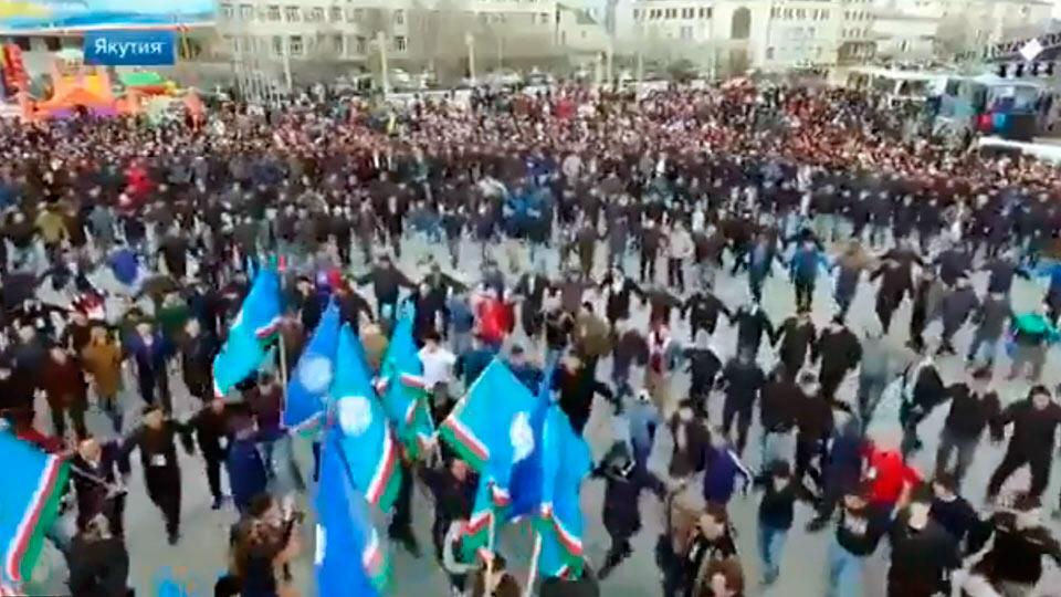 Гуляния в Якутии