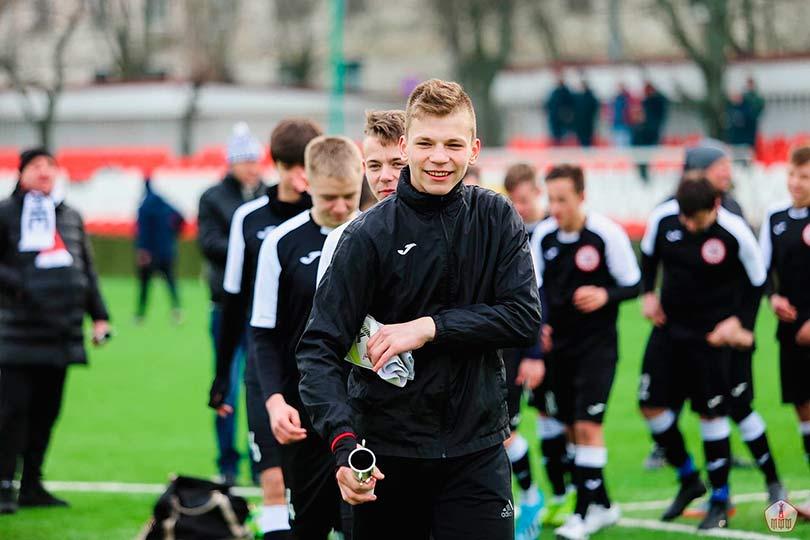 Российский футболист Иван Заборовский
