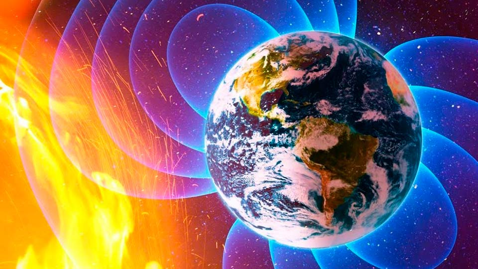 Сдвиги магнитного поля Земли