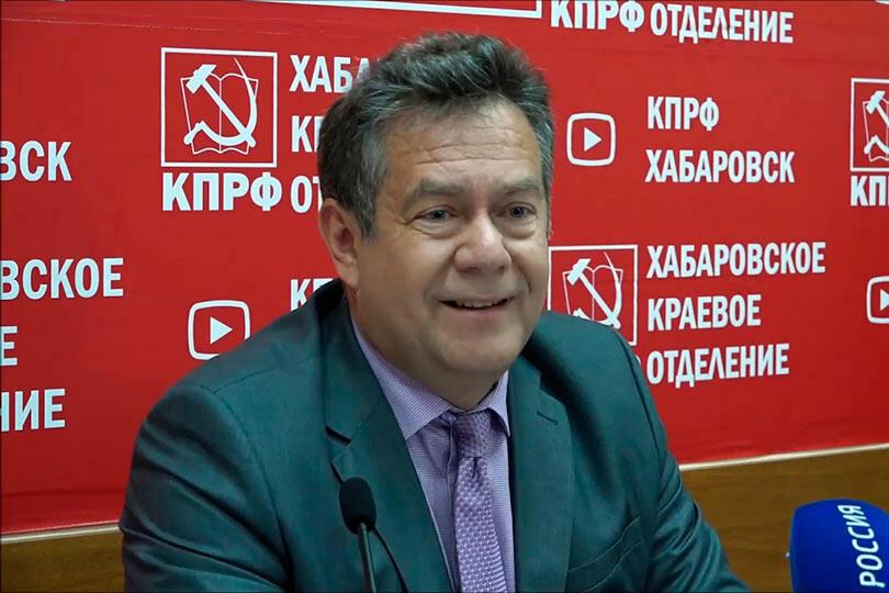 Платошкин в Хабаровске 2019