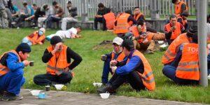 К митингам в Хабаровске, добавились бунты мигрантов в Москве, федеральные СМИ хранят гордое молчание