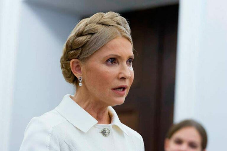 Тимошенко считает решение Зеленского о повышении цены на газ для украинцев, «маразматичной» политикой