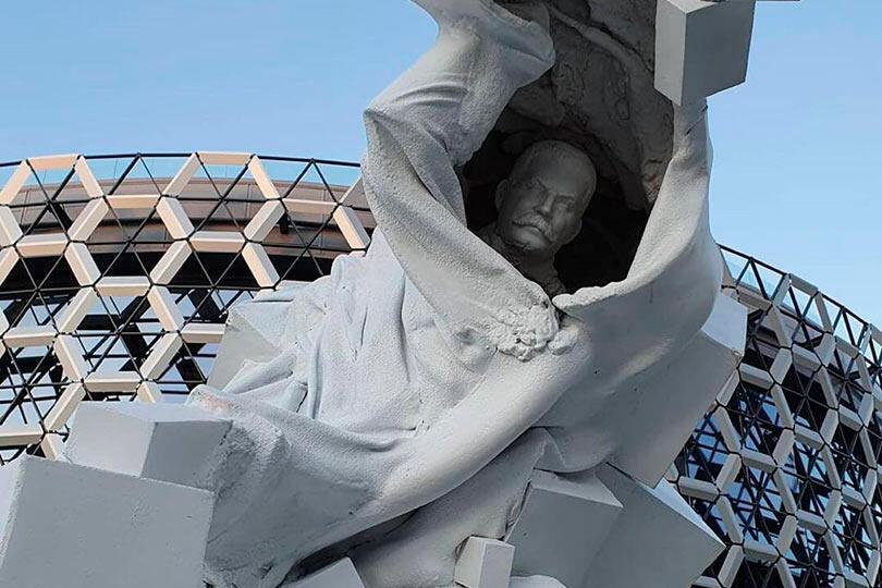 Памятник Сталину в Казани
