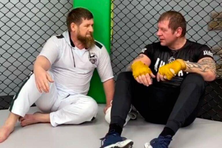 Президент Чечни Кадыров потребовал провести бой-реванш Емельяненко с Измаиловым