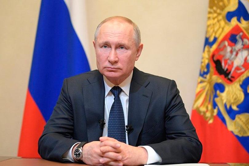 Путин Владимир президент РФ