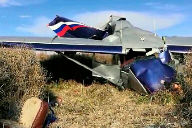 Под Калининградом разбился частный самолет, едва успев взлететь