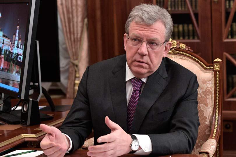 Алексей Кудрин у Путина в кабинете