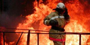 Пожар в частном доме в Подмосковье унес жизни двух людей
