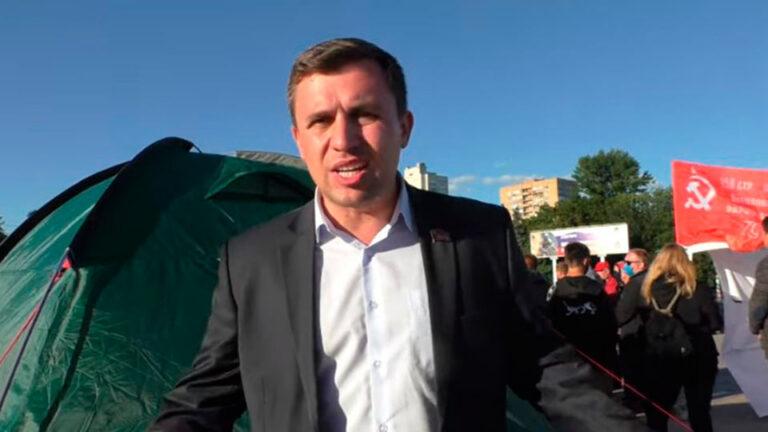 Николай Бондаренко прибыл в Ульяновск, где 18 кандидатов от КПРФ отстранили от участия в выборах