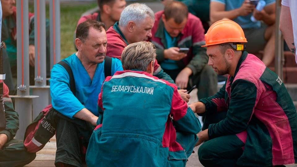 Белорусские шахтеры