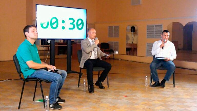 В Казани состоялись дебаты между Маратом Закировым из «Единой России» и Анваром Затиным из КПРФ