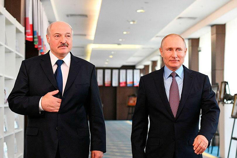 Встреча Путина и Лукашенко в Сочи 2020