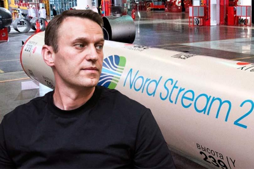 Навальный на фоне Северный поток – 2