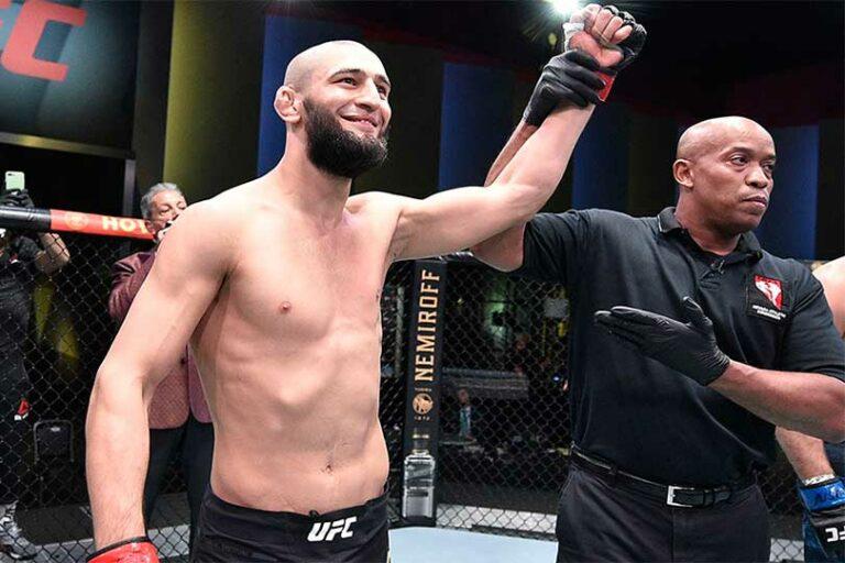 «Чеченский Хабиб» вновь одержал очередную победу в UFC за 17 секунд