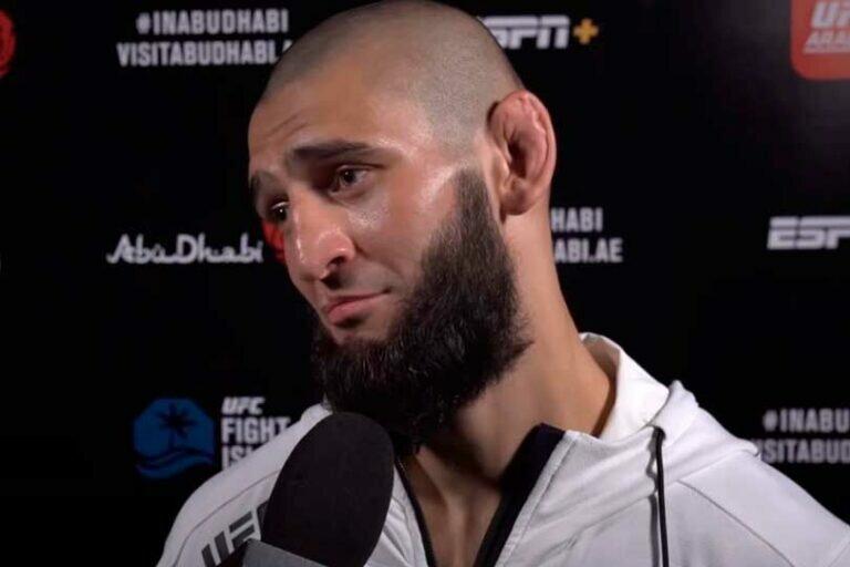 Хамзат Чимаев бросил вызов бывшему претенденту на титул UFC