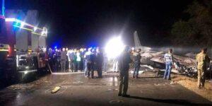 Свидетели крушения самолета Ан-26 с курсантами на Харьковщине, рассказали жуткие подробности