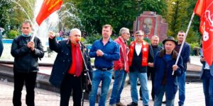 В Казани прошел митинг КПРФ, ЗНС и «Левого фронта», они представили своих немногочисленных представителей
