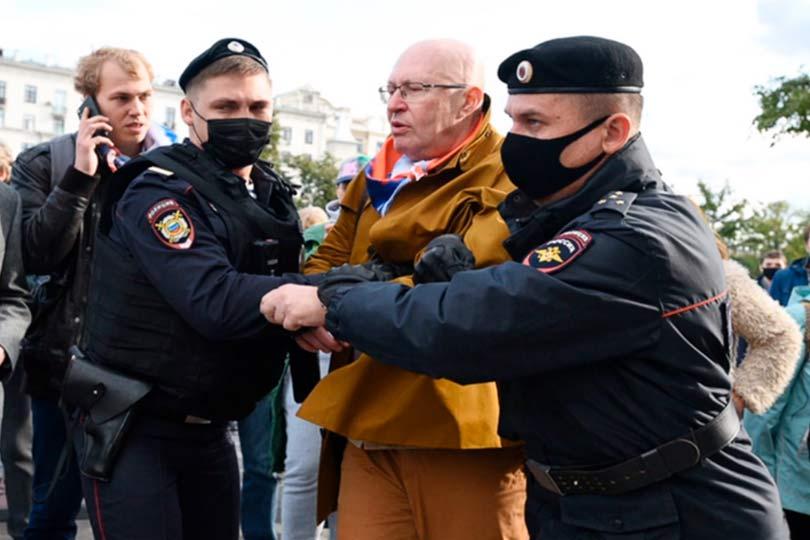 Задержание Валерия Соловья