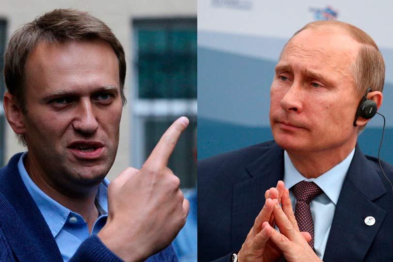 Навальный и Путин