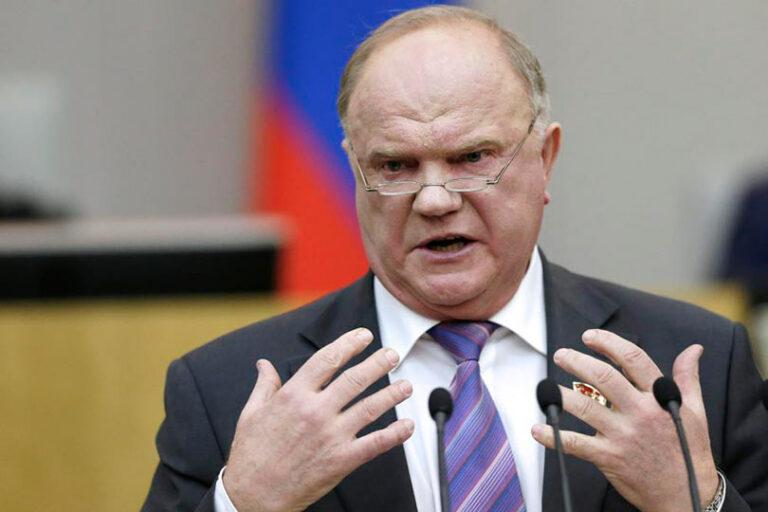 Зюганов нарушил обет молчания и упомянул о Платошкине, которого арестовали по абсурдному обвинению