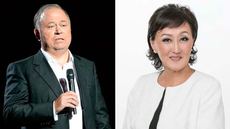 Сардана Авксентьева и Андрей Караулов