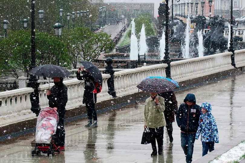 Ухудшение погоды в Москве