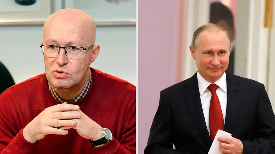 Валерий Соловей и президент России