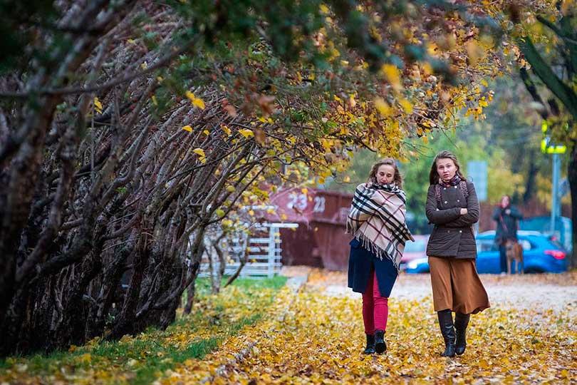 Осенняя погода в Москве