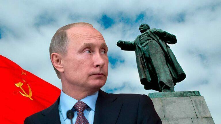 Путин антисоветчик и потому все экраны российского ТВ наводнила низкопробная антикоммунистическая пропаганда