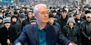 Мэр Москвы Собянин пожаловался на отсутствие гастарбайтеров, их число сократилось на 40% и некому стало класть бордюры